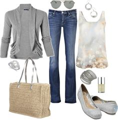 """""""Pretty Neutrals"""" by pamnken ❤ liked on Polyvore"""