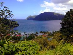 Taking the scenic route along the North coast road... Maracas Lookout