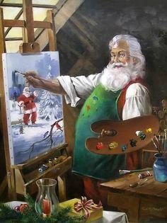 Images about santa on pinterest vintage santas father christmas