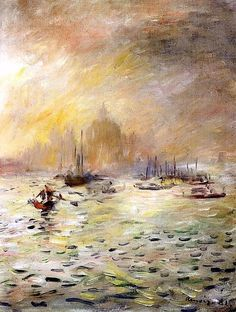 "Pierre Auguste Renoir - ""Venezia, nebbia"" (1881)"