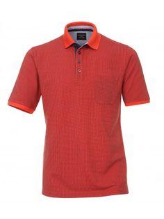 Gemustertes Polo Shirt
