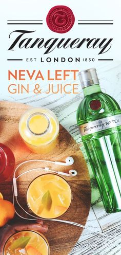 Inspired by Snoop Dogg's latest album, the Neva Left Gin & Juice brings out some real fresh fall flavors—great for hosting or just sipping with friends. To make this simple, 3-step cocktail recipe, mix 1.5 oz Tanqueray TEN, 3 oz. Mandarin or Tangerine Juice, and 1 oz. Cranberry Juice. Don't forget to raise a glass to Snoop.