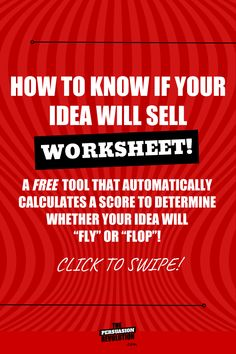 """""""HOW TO KNOW IF YOUR BUSINESS IDEA WILL SELL: The thought of asking someone to get on the phone or take a survey so I can validate my idea? Makes my kidneys shiver in fear. So I use something easier (and much more effective) called The Fly or Flop framework."""" #marketingtips #businesstips #entrepreneurtips #startuptips #onlinebusiness #entrepreneurship #businessworksheets #onlinebiz #selling Start Up Business, Starting A Business, Business Tips, Online Business, Business Opportunities, Make Money Blogging, Make Money Online, How To Make Money, Blogging Ideas"""