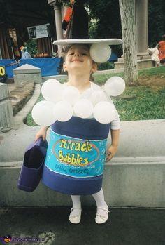 """Bubble Girl"" - Halloween Costume Contest via @costumeworks"