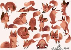 Animal drawings, animal sketches, cute drawings, drawing animals, art s Character Design Challenge, Character Design Inspiration, Fox Illustration, Character Illustration, Animal Drawings, Art Drawings, Drawing Animals, Animal Sketches, Fox Character