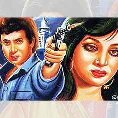 Movie Poster Bangladeshi Rickshaw painting