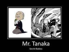 Black Butler ~~ The original Phantomhive butler was ALWAYS a badass. He always will be, too. :: [ Mr. Tanaka by ShizuoFan on deviantART ]