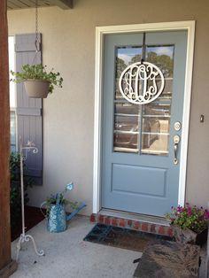 My new front door!! Loving it