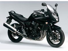 Suzuki GSF 650 S Bandit. My current bike: A sport-touring machine, noble and maneuverable, with more than enough power and a sleek semi-faired design. It's in the same category as the popular Yamaha Fazer FZ6 and Honda CBF 600.