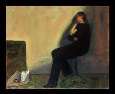 Το μπιτόνι με το νέφτι/ A can of White Spirit  λάδι σε καμβά /oil on canvas 50. 0 *40.0*2.0  cm