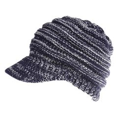 2991b22002b Women Fashion Winter Hats Slouchy Beanie