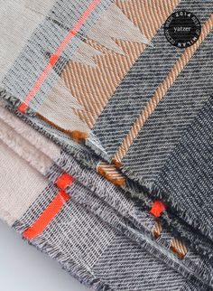 The textile designs of The Netherlands-based textile designer Mae Engelgeer.  #ttafe #labboom #fabrics