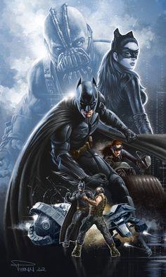 The Dark Knight Rises by Mike Penn ( ~madadman on deviantART ) madadman.deviantart.com/