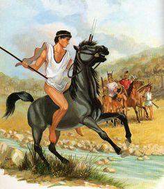 Light Cavalryman, Southern Etruria and Campania, 6th-4th cent. BC & Campanian Medium Cavalry, 4th cent. BC