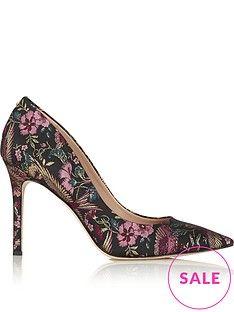sam-edelman hazel-jacquard high-heel court-shoes