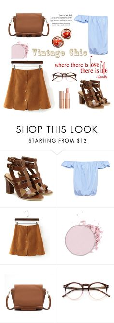 """Vintage chic - Y23"" by mell-m ❤ liked on Polyvore featuring WALL, Wildfox, vintage, yoins, yoinscollection and loveyoins"