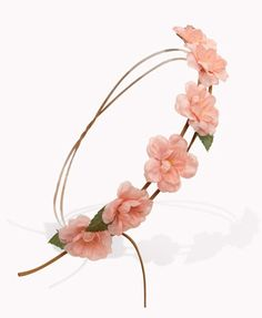 Faux Suede Rose Garland Headwrap | FOREVER21 - 1053620393