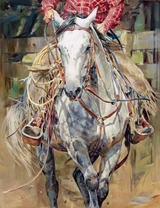 FineArtWorld - Sophy Brown #equine #art #horsemanship