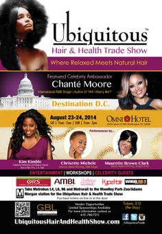 Celebrity Stylist and Beauty Expert, star of We TV's L.A. Hair, Kim Kimble joins the Ubiquitous Hair and Health Trade Show line up.