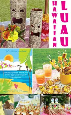 Hawaiian luau party (originally spotted by @Cathrynraa59 )