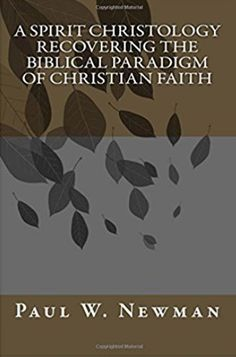 """A Christology for our time.   """"Jesus is seen as the pioneer and perfecter of faith.His uniqueness is in his continuing vocation as Messiah. A biblical and contemporary theology of Spirit is developed to explore the presence of the Spirit in Jesus and the logic of salvation is worked out. Finally, this interpersonal Christology is compared in detail to the intrapersonal Christology of traditional Christianity."""""""