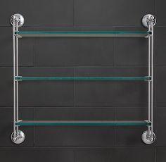 Chatham Triple Glass Shelf $206 - $221MEMBER