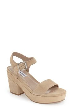 a12917d645e20 Steve Madden  Ashlin  Platform Sandal (Women) Steve Madden