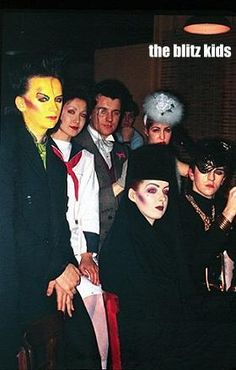 The Blitz kids    (Boy George, Steve Strange)
