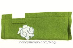Quick Texting Gloves with Embroidery Embellishment by Nancy Zieman/Sew Knits with Confidence | Nancy Zieman Blog