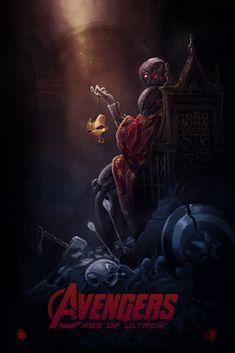 Гик-Арт №144. Постеры к фильму «Мстители: Эра Альтрона» | GeekCity