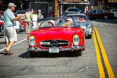 #300SL in Idyllwild, CA.    Photo: Royce Rumsey