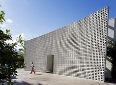 Breeze Block Facade