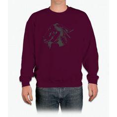 Lovely Goat Design For Animal Goat Lovers Sketched chicago cubs Crewneck Sweatshirt