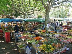 Saturday market, Beaulieu-sur-Mer