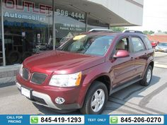 2008 PONTIAC TORRENT BASE AWD RED $10,491 80822 miles 845-419-1293 Transmission: Automatic  #PONTIAC #TORRENT #used #cars #JimmysAutoOutlet #Fishkill #NY #tapcars