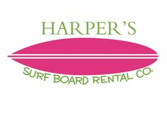 "Surf Board Wall Decal - Personalized Name Vinyl Wall Decals Boy Girl Teen Room Wall Decals Surfing Ocean Theme 16""H x 36""W Wall Art FS220. $42.00, via Etsy."