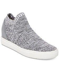 d2b3e7140b4 Steve Madden Women s Sly Flyknit Sneakers   Reviews - Sneakers - Shoes -  Macy s