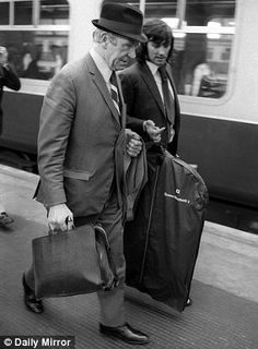 Wayward son: manager and star player George Best attend an FA hearing after Best was sent off against Chelsea in 1971     Read more: http://www.dailymail.co.uk/sport/football/article-1338984/Sir-Matt-Busby-Tribute-original-master-Manchester-United.html#ixzz25pDRTBrt