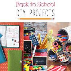 Back to School DIY Projects - The Cottage Market