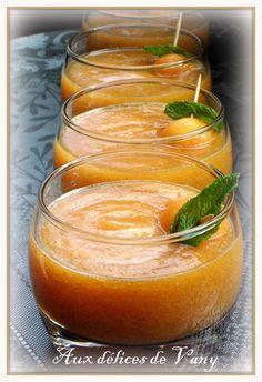 #Soupe #sucrée de #melon à la #menthe
