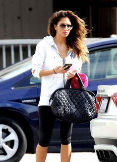 Nicole Scherzinger :  sport outfit
