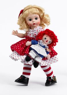 Raggedy Ann and Me by Madame Alexander