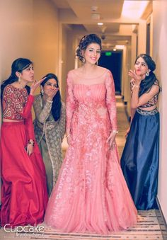 Bridesmaid | bride | Makeup | Weddingplz | Wedding | Bride | Groom | love | Fashion | IndianWedding | Beautiful | Style | Groom | jewellery | photographer | WeddingLehenga | MakeUpArtist
