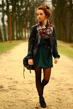 Fall clothes back to school outfit