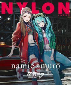 J-Music : Namie Amuro - B Who I Want 2 B feat. HATSUNE MIKU