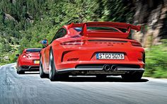 The all-new Porsche 911 faces its toughest challengers on road and track. We compare the with the McLaren on track and the mighty . Porsche 911 Gt3, Car Videos, Ferrari 458, Evo, Super Cars, Mclaren 12c, Nissan Gt, Skateboarding, Track