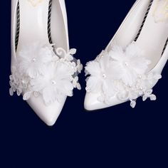 Organza Flowers, Bridal Flowers, Wedding Flats, Wedding Dress, Flower Shoes, Corsage Wedding, Only Shoes, Shoe Clips, Prom Shoes