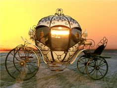 Cinderella Carriage ride - It's every girl's fantasy! Cinderella Carriage, Cinderella Wedding, Princess Carriage, Cinderella Coach, Pumpkin Carriage, Horse Carriage, Horse Drawn, Conte, Horses