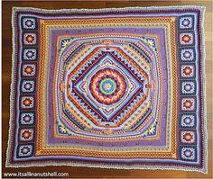 La Magia del Crochet: Estrepitoso Mandala, es que otro nombre no podria ser...es espectacular!!