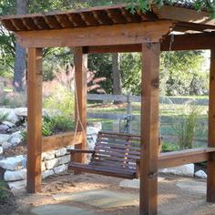 Pergola Swing Design, Pictures, Remodel, Decor and Ideas